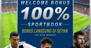 WELCOME BONUS 100% SPORTBOOK