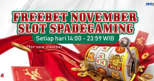 FREEBET SpadeGaming November 2019