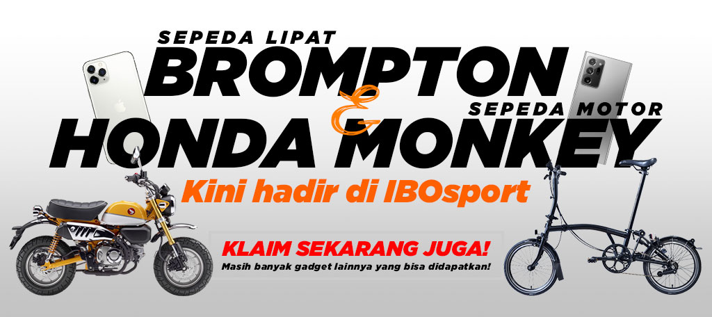 point reward ibosport berhadiah honda monkey